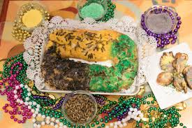 King cake flavored treats in New Orleans for the king cake