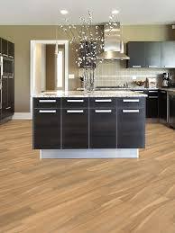 Blonde Porcelain Tile Flooring