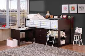 Low Loft Bed With Desk And Storage by Charleston Storage Loft Bed With Desk U2014 Modern Storage Twin Bed Design