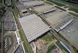 Kansai Airport Sinking 2011 by With This Project Stansted Attempted To Recapture The Clarity Of