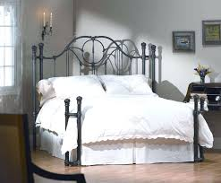 Value City Furniture Metal Headboards by Charming King Metal Bed Frame Headboard Footboard And Bedding