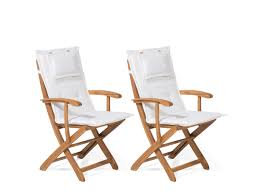 Set Of 2 Garden Chairs With Off-White Cushion MAUI | Furniture ... Folding Garden Chair Black Torre Sol 72 Outdoor Darwen Wayfaircouk Cover Rentals Nh Wedding Sash Tables And Chairs 1888builders Plastic Foldable With Metal Legswhite Simple Tasures Stationary Cversation With Strap Whosale Americana Chairswhite Wood Drawing At Getdrawingscom Free For Personal Use Lakes Region Tent Event On Sale White Target Tc Office Morph Polypropylene 9 Splendid Fold Up Gallery Home Patio Design