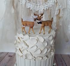 Deer Hunter Bride Groom Wedding Cake Topper Camouflage Country Rustic Woodland Buck Doe Lover Hunting Fishing Woods Mr Mrs