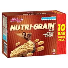 Nutri Grain Bar Blueberry Ingredients