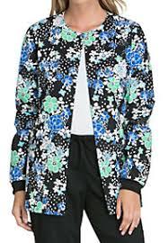 Ceil Blue Print Scrub Jackets by Print And Graphic Medical Scrub Jackets Scrubs U0026 Beyond