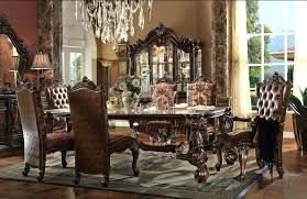 Large Formal Dining Room Sets Round Set