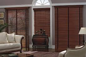 Compact Wooden Blinds Direct As Rustic Window Treatment Awesome Spacious Living Room Design With Extensive