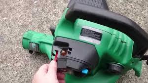 Weed Eater BV1850 Leaf Blower Vacuum