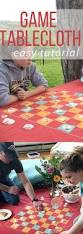 Fitted Round Outdoor Tablecloth With Umbrella Hole by Best 25 Picnic Tablecloth Ideas On Pinterest Camping 101