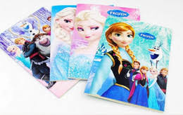 Frozen Cartoon 55x4 Kids Coloring Book With Stickers Drawing Children Gift