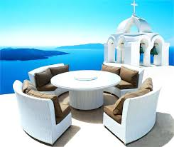 Plans For Wooden Patio Table by Round Wooden Patio Set Circular Patio Furniture Set Bosmere