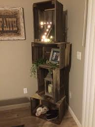 Wood Crate Shelf Diy by Love My Crate Shelves Bedroom Design Ideas Pinterest Crate