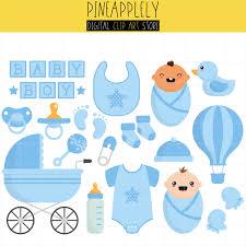 Baby Boy Things Little e Baby Shower New Born Digital