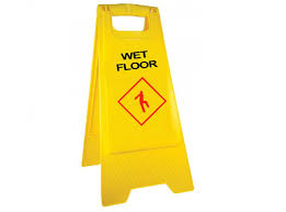 Caution Wet Floor Banana Sign by This Wet Floor Stand Is The Modern Version Of Caution Safety Sign