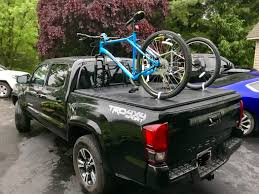 100 Truck Bike Mount Memorial Day Weekend DIY Bike Mount On The Trifold Cover ToyotaTacoma