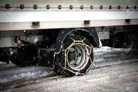 Snow Chains Stock Photo, Picture And Royalty Free Image. Image 25095717.