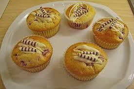 himbeer frischkäse muffins