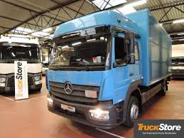 100 Used Box Trucks MERCEDESBENZ ATEGO 1221 L 4X2 Closed Box Trucks For Sale From
