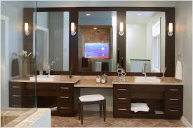 Bathroom Vanities With Matching Makeup Area by Bathroom Vanity Table With Sink The How To Build A Bathroom