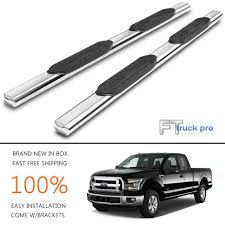 100 Chevy Truck Parts Catalog Free 5 Nerf Bars Running Board Side Step Stainless For 20152017 Ford