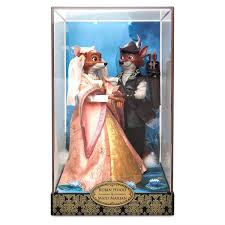 Robin Hood And Maid Marian Doll Set Disney Designer Fairytale