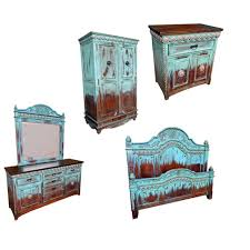 Turquoise Bedroom Furniture Dubious Excellent Ideas Western Decor 11