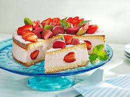 erdbeer rhabarber torte
