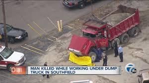 100 Man Found Dead In Truck Found Dead Under Dump Truck YouTube