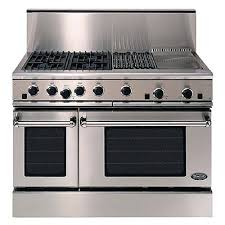 Full Image for Wolf 48 Inch Gas Range With Charbroiler Wolf 48 Gas Range With Griddle