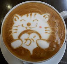 6 Look At That Smile And Those Cheeks Latte Art Cat In Coffee