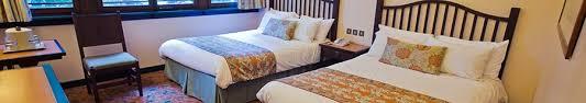 chambre standard sequoia lodge disney s sequoia lodge room rates disneyland hotels