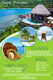 Travel Agency Flyer Click The Image To Customize On PosterMyWall