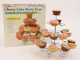 Image Is Loading New Patty Cake Cupcake Party Tree Holds 23