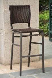 wicker bar height patio set bar stool outdoor aluminum patio foter