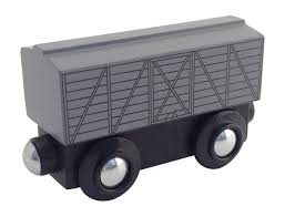 100 Trackmaster Troublesome Trucks Grey Cattle Car
