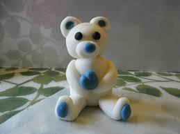 comment faire un ourson en pâte à sucre pour décorer vos gâteaux