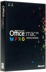 Microsoft fice MAC 2011 Home & Business