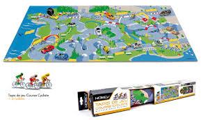 tapis de jeux voitures nouveaux cyclistes et miniatures norev 100ème tour de le