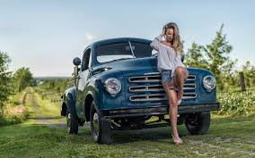 Images Trucks Studebaker Beautiful Girls Legs Cars 2560x1600