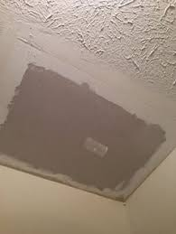 Patching Popcorn Ceiling Paint by How To Patch A Hole In A Textured Ceiling Textured Ceiling