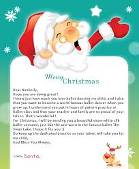 Letter from Santa Free Samples Letters from Santa – Dgreetings