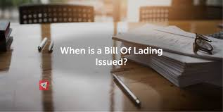 100 Truck Bills Of Lading When Is A Bill Issued Land Sea Air Shipping