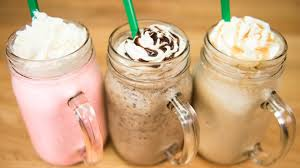 Make A Starbucks Frappuccino Cotton Candy Java Chip Caramel