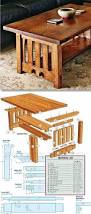 mission coffee table plans furniture plans and projects