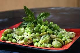 cuisiner des petit pois frais fèves et petits pois à la menthe passe moi ta recette