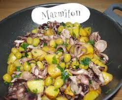 cuisiner poulpe frais poulpe à la gallego poulpe de galice recette de poulpe à la