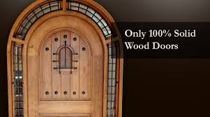 Only 100 Solid Wood Doors