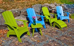Navy Blue Adirondack Chairs Plastic by Curved Modern Plastic Adirondack Chair Loll Designs