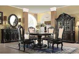 Matteo Gothic Ebony China Cabinet