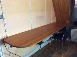 plateau de bureau en bois recyclage objet récupe objet donne plateau bureau bois à